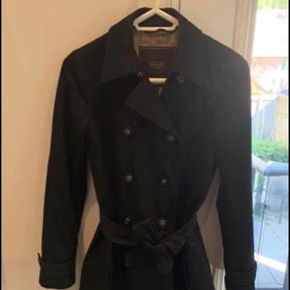 Coach Jackets & Blazers - Coach black trench coat